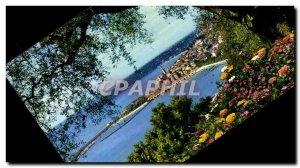 Postcard Moderne Menton Cote d & # 39Azur French Riviera Vue Generale