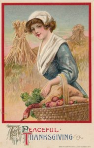 John Winsch ; THANKSGIVING , 1911 ; Peaceful