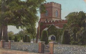 Little Gaddesden Church Antique Postcard
