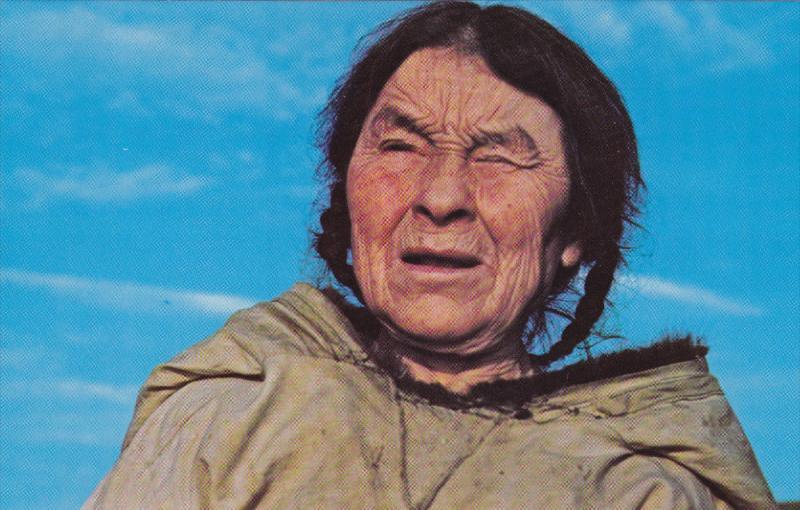 Eskimo Woman , Nunavut , Canada , 50-60s