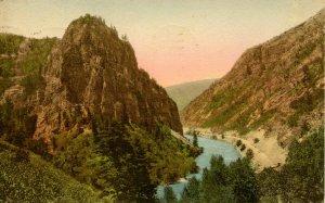 CO - Glenwood Springs. Tunnel Point, Glenwood Canyon