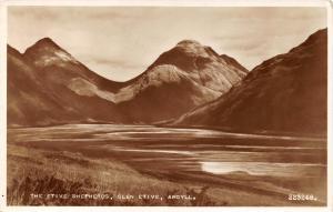 Vintage 1955 Postcard REAL PHOTO The Etive Shepherds, Glen Etive, Argyll #E