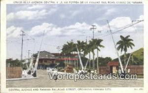 Republic of Panama, República de Panamá Central Avenue & Panama Railroad St...
