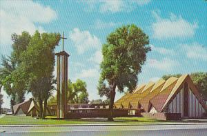 Exterior,  First United Methodist Church,  Fort Collins,  Colorado,  PU_1977