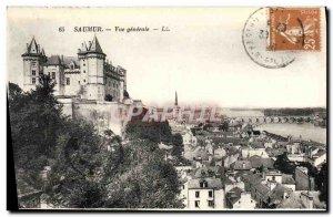 Postcard Old Saumur Vue Generale