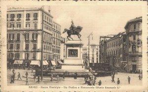 Italy Naples Town Hall Square Napoli Piazza Municipio 06.15