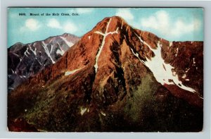 Mount Of The Holy Cross CO, Scenic View, Vintage Colorado c1912 Postcard