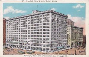 Illinois Chicago Marshall Field & Cos Retail Store Randolph State And Washing...