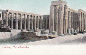 LOUXOR , Egypt , The Colonnades , 00-10s