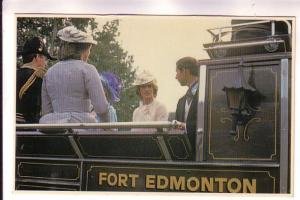 Charles & Diana in Canada, Fort Edmonton Park, Series 3 - # 10, 1983