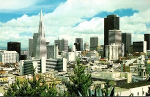 California San Francisco Skyline