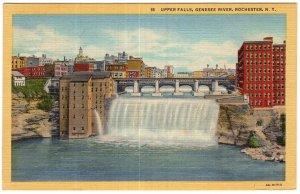 Rochester, N.Y., Upper Falls, Genesee River