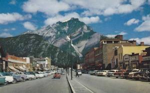 Street View , BAnff , Alberta , Canada , 1950-60s