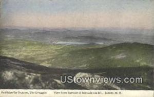 Summit of Monadnock Mountain Jaffrey NH 1917
