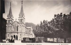 RP; COVADONGA, Fachada de la Basilica, Asturias, Spain, 00-10s