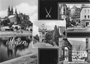 Meissen Georgentor, Marktplatz mit Rathaus, Wainhaus Vinconz Richter Dom
