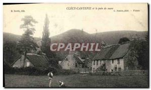 Old Postcard Clecy Cantepie and Sugar loaf
