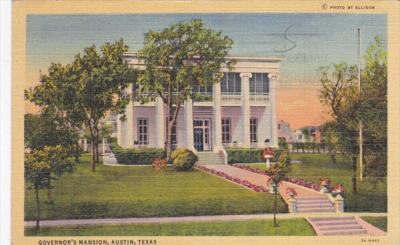 AUSTIN, Texas, PU-1942; Governor's Mansion