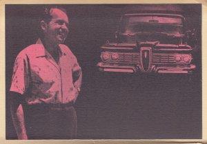 President Nixon & Car, 60-70s