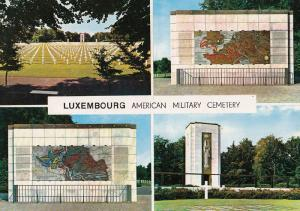 Luxembourg American Military Cemetery Postcard