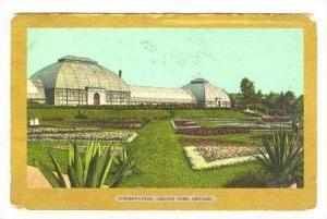 Conservatory,Lincoln Park,Chicago,Illinois,1906