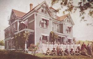 Iowa Sioux City German Lutheran Church 1909