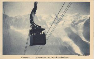 France Chamonix Teleferique de Plan-Praz Brevent