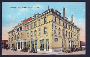 Latham Hotel Hopkinsville Kentucky used c1939