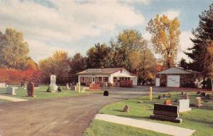 Southfield MI Wietecha Monuments (Grave Stones) Tombstones Postcard 1970s