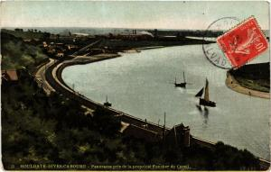 CPA HOULGATE-DIVES-CABOURG Panorama pris de la propriété Foucher (422287)