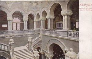 New York Albany Western Stair Case Capitol Building