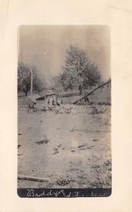Real Photo Postcard~Farm Yard Chicken Coop~Biddy & Chicks~c1914 RPPC