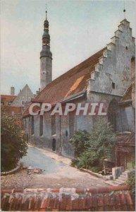 Postcard Modern Tallinn Church of the Holy Ghost 13th-19th centuries