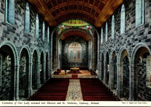 Ireland Co Galway Cathedral Of Our Lady Of Liberty Assumed Into Heaven and St...
