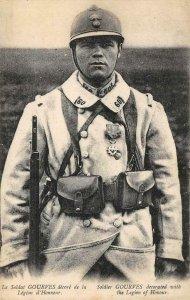 Le Soldat GOURVES Soldier Legion of Honour Military c1910s Vintage Postcard