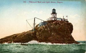 OR - Tillamook Rock and Lighthouse
