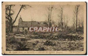 Old Postcard Ravages has the & # 39eglise Carnoy
