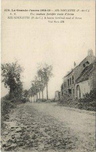 CPA La Grande Guerre 1914-15-AIX-NOULETTE Une maison fortifiee route (129728)