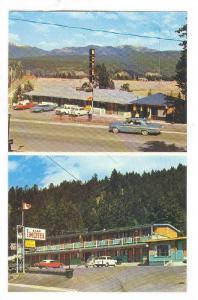 Views of two motels, Radium Hot Springs, South of  Kootenay National Park gat...