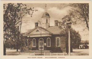 Old Court House, Williamsburg Virginia