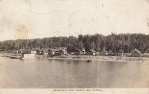 RP, Beaverland Camp , Martin Lake, Ontario, 1940