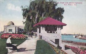 California San Pedro City Park and Public Library