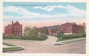 OKLAHOMA CITY, Oklahoma, 1900-1910s; St. Anthony's Hospital