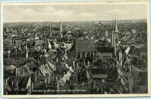 Germany - Nurnberg, View of the Town   *RPPC