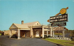 Monticello Motor Lodge in Bellmawr, New Jersey