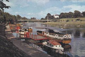 England Chester River Dee Boat Landings & Suspension Bridge