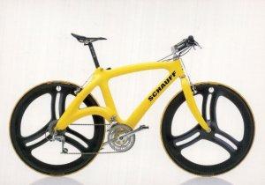 Schauff Wall Street German 1993 Bicycle Bike Cycle Postcard