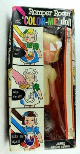 1966 The Color-Me Doll Romper Room Doll w/ Box Vintage Original