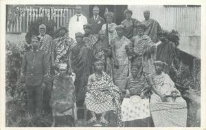 Seychelles King Prempeh of Ashanti & Court Ghana Gold Coast
