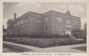 Iowa Mt Pleasant Gymnasium Iowa Wesleyan College Albertype